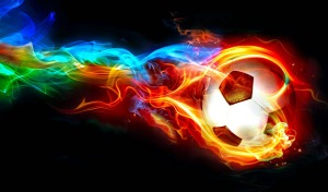 minge-fotbal-flacara